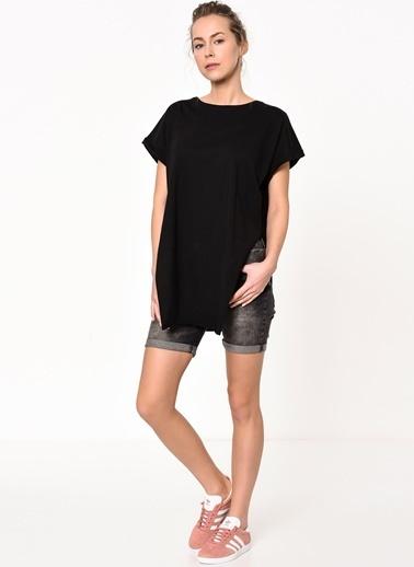 Cazador Uzun Tişört Siyah